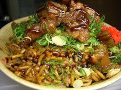 Recetas Japonesas en español!: Sobameshi - Fideos y arroz fritos