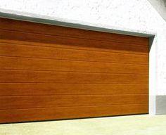 LPU insulated garage door hormann sectional m-ribbed deco grain Garage Door Insulation, Garage Doors, Outdoor Furniture, Outdoor Decor, Storage, Building, House, Home Decor, Puertas