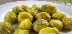 COLES DE BRUSELAS CON SALSA DE LIMÓN #Vegan #Vegetariano #Recetas #Veggie