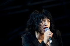 Lydia Lunch performs at 1234 Festival, Shoreditch Park, London, on Sept. 7, 2011.
