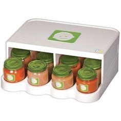 PRK Products Universal Baby Food Jar Storage and Organizer Food Storage Organization, Baby Food Storage, Jar Storage, Organizing Tips, Store Baby Food, Baby Store, Baby Food Jars, Everything Baby, Baby Needs