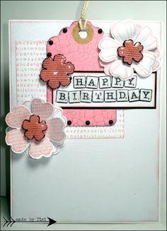 Happy Birthday Card by Arts by Tini: Neue Karten