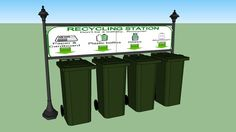 Recycling Station - 3D Warehouse