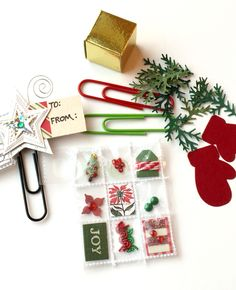 Holiday Mini Pocket Letter Miniature by Jackie Benedict