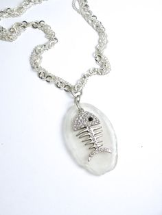 White Sea Glass Oval Bottle Bottom with a by MermaidTearsSeaglass, $17.99