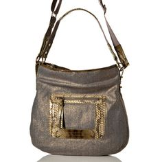 Vintage Reign  Matty  Snake Trim Canvas Hobo Bag Discount Handbags,  Handbags Online, d6a12874d8