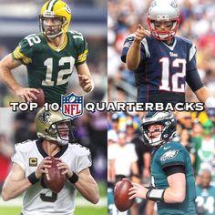 My Top 10 Best NFL Quarterbacks: 1. Aaron Rodgers 2. Tom Brady 3. Drew Brees 4. Carson Wentz 5. Russell Wilson 6. Ben Roethlisberger 7. Matt Ryan 8. Phillip Rivers 9. Cam Newton 10. Matt Stafford Thoughts? ______________________________________________ #EaglesNation #Eagles #FlyEaglesFly #GoEagles #PhiladelphiaEagles #Eagles #GoBirds #Philly #Philadelphia #WeBleedGreen #NFL #BirdGang #EaglesEverything #EaglesFootballMy Top 10 Best NFL Quarterbacks: 1. Aaron Rodgers 2. Tom Brady 3. Drew Brees…