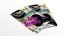 Cirk La Putyka v Liberci Graphics, Creative, Cards, Graphic Design, Printmaking, Maps, Playing Cards