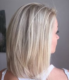 Cool-toned blonde