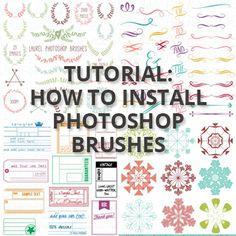 downloading brush tutorial