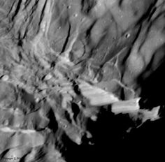Verona Rupes: Tallest Known Cliff in the Solar System Image Credit: Voyager 2, NASA