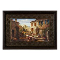Old world map framed art print map frame living room redo and a courtyard in bloom framed art print gumiabroncs Images