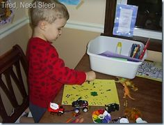 Dino crafts and activities
