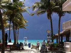 Día con lluvia en #PlayadelCarmen