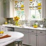 Cute Kitchen Window Curtains : Great Design Kitchen Window Curtains
