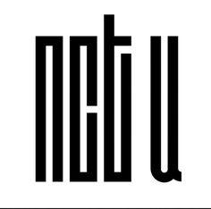 nct u (by MissCatieVIPBekah on deviantart) Nct Logo, Kpop Logos, Pop Stickers, Logo Sticker, Nct 127, Chibi, Logo Design, Wallpaper, Buy Fan