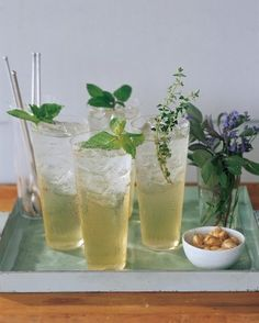 """See the """"Herbal Sodas"""" in our Outdoor Party Drinks and Appetizers gallery"""