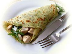 Panquecas de espinafres | Cozinha Ótima