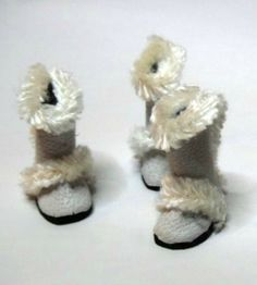 how to: mini fur trimmed boots