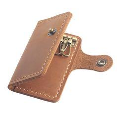 Kleidung & Accessoires Geldbörsen & Etuis WunderschöNen Leather Wallet Cardholder Best Of British Hide Smooth Soft Elegant Business Man