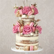 Sensational Semi Naked Wedding Cakes: Something For Every Wedding Theme