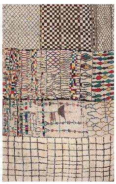 Large Moroccan Rugs by Nazmiyal