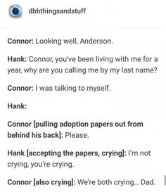Detroit Become Human meme {and fanart} book ✔ - incorrect quotes - Wattpad Detroit Being Human, Detroit Become Human Connor, Fandoms, Luther, Humans Meme, Becoming Human, I Am Alive, I Like Dogs, Gay