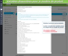 Available variables for the product template. The full list with variables supported in the product template. Business Advice, Home Based Business, Variables, Internet Marketing, Advertising, Templates, History, Learning, Flu Season