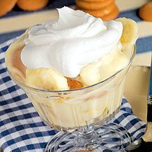 This is one of the ONLY lowfat recipes I have ever thought was as good as the real thing.. mmm banana pudding..