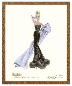 Stolen Magic Barbie - Limited Series Robert Best Barbie Fashion Print-Framed | eBay
