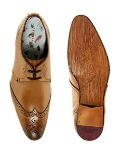 Enlarge Ted Baker Greco Brogue Shoes