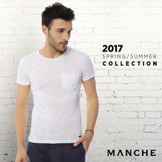 Casual ceketlerinizi basic tişörtlerle kombinleyerek hafta sonuna şık ve rahat bir geçiş yapın! 👉 http://www.manche.com.tr/koleksiyon/yaz-koleksiyonu/manche-basic-tişört-beyaz