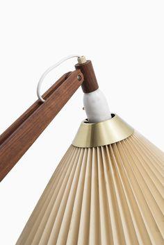 Vilhelm Wohlert floor lamp model 325 by Le Klint at Studio Schalling #midcenturymodern #klint #danishdesign