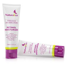 Skin Care Anti-Aging Wrinkle Treatment, Retinol Face Moisturizing Cream By Naturalico -67% Organic Synthesis Of 2.5% Retinol, Botanical Hyaluronic Acid and Vitamins - For Day and Night Use - 4 Fl.Oz -- Visit the image link more details.