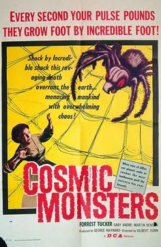 COSMIC MONSTERS aka THE STRANGE WORLD OF PLANET X 1958