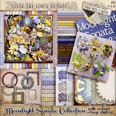Moonlight Sonata Collection by Over The Fence Designs  #overthefencedesigns #wilma3ever #digitalscrapbooking