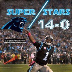 Carolina Panthers vs NY Giants #14-0 #keeppouding