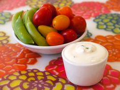 Say goodbye to that bottled stuff and hello to this easy homemade version of Ranch Dip that goes great with everything!