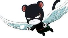 Pantherlily- is an Exceed that used to work for the kingdom of Edolas as the Magic Militia's First Division Commander of the Royal Army.He is currently a member of the Fairy Tail Guild and is Gajeel Redfox's cat companion. ♥