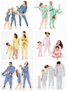 efa61839d7 Family Matching Spring   Summer Pajamas Mother Daughter Matching Outfits