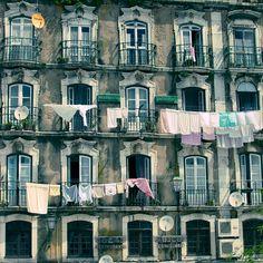 Residencial Varandas by Scott Dunwoodie. Massive range of art prints. Lisbon City, Portugal, Window View, Day Tours, Windows And Doors, Landscape Art, Architecture Design, Places To Go, Art Prints