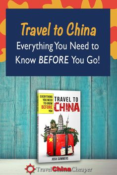 The Must-Have China Travel Guide Book for TravelChinaCheaper If you're planning to travel to China anytime in the next couple years, now is the time to start planning. My new China travel guide book will tell you everything you need New Travel, Summer Travel, Asia Travel, China Travel Guide, Croatia Travel Guide, Tokyo Japan Travel, Singapore Travel, Moving To China, Eyewitness Travel Guides
