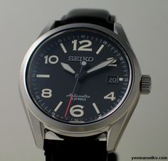 SARG011, totally digging the huge numerals and the red-tipped second hand. Amazing clean design.