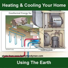 Heating and Air Conditioning Using The Earth...http://homestead-and-survival.com/heating-and-air-conditioning-using-the-earth/