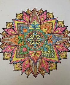 ColorIt Mandalas to Color Volume 1 Colorist: Robin Petrilla #adultcoloring #coloringforadults #mandalas #mandala #coloringpages