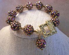 Bracelet  Diva Collection  Diva Glam Bracelet by DebLuvs on Etsy, $28.00