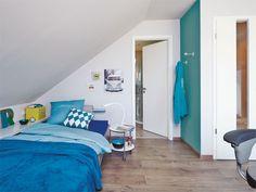 Das Jugendzimmer Unterm Dach: Wie In Einem Mini Loft Das Dachgeschoss Mit  Großem Wohn
