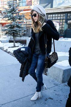 Celeb Diary: Jessica Biel @ 2013 Sundance Film Festival