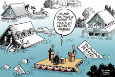 Talking about Sandy © Patrick Chappatte,The International Herald Tribune,USA,Climate,Presidential Election 2012,Obama,Romney,Natural Disaster,Global Warming,Environment,Hurricane,Weather,Climate,Sandy, hurricane climate change,political storm