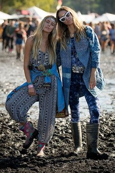What to wear when it's really, really muddy